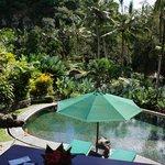 private pool in vila