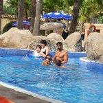 piscina agua climatizada