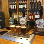 Real ale taster boards
