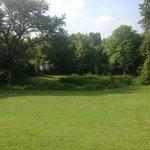 parc magnifiquement entretenu