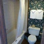 Small shover room