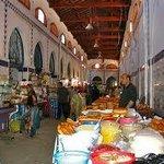 le marché central de Tunis : vue générale