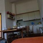 cucina dell'altro appartamento