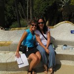 At Park Guell with Miriam