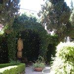 Le jardin sur la terrasse au 2e