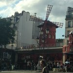 Moulin Rouge, 5 minute walk from hotel