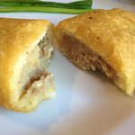 Empanadas - filled with meat, cooked egg and potato