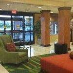 Lobby area...