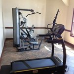 fitness center with Precor and Livestrong machines