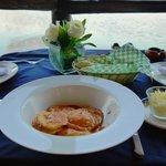 La Palapa Belga . Lobster ravioli