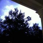 Lightening from the balcony
