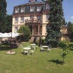 Aussenbereich Hotel Le Manoir Barr