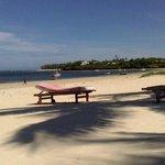 La spiaggia della Rosada