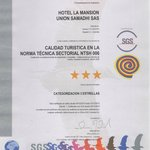 Certificado categorización
