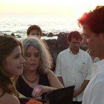 Beachfront ceremony!