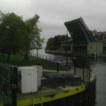 bridge downtown charlevoix