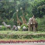 Zoo Entrance figures
