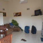 Main room of apartment