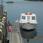 Whale Watch Boat at the dock