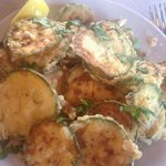 The most amazing fried courgettes
