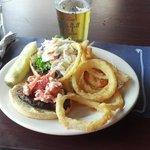 Lobster burger!
