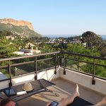 """View from room (""""Orki"""") terrace"""