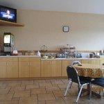 Breakfast Area on first floor