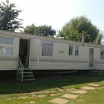 Ventnor caravan (where we stayed)