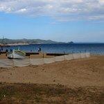 Het strand bij La Londe Port