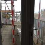 Sadly we couldn't use our balcony so if you book just ask about building works.