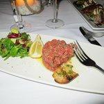 outstanding beef tartare