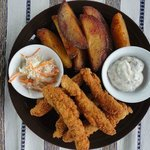 Fish and Potatoe wedges
