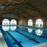 Indoor pool restored to its former glory.