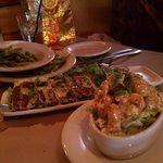 Sashimi Tuna, and Bang Bang Shrimp - 2 winners.