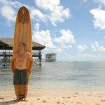 Outside Boardwalk at Cloud 9 Resort