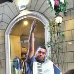 Accordion player!
