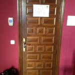 nice antique wooden door