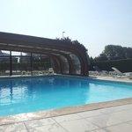 piscine ouverte ou fermée selon le temps