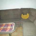 sofa cocina