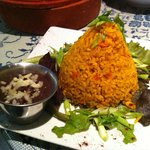 House Rice and Refried Beans