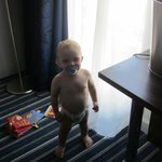 Baby in the room
