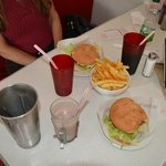 Over-Sized Burgers & Paprika Fries-Yum??