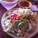 "The ""grande nachos"""