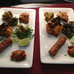 Different varieties of our starter at Dreamers