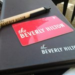 The ever classic Beverly Hilton logo