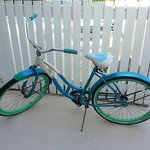 Loaner bikes free for guests to use