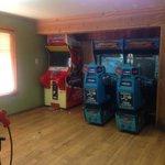 small arcade inside