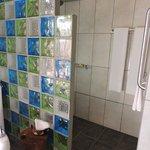 Beautiful shower area