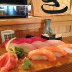 excellent presentation, taste and temp. Masa Shushi