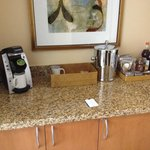 View of mini Bar/Coffee Area